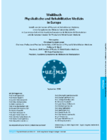 German Version of PRMM White Book – Weißbuch Physikalische und Rehabilitative Medizin in Europa (deutsch)
